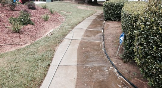 georgia residential pressure washing